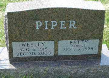 PIPER, BETTY - Minnehaha County, South Dakota | BETTY PIPER - South Dakota Gravestone Photos