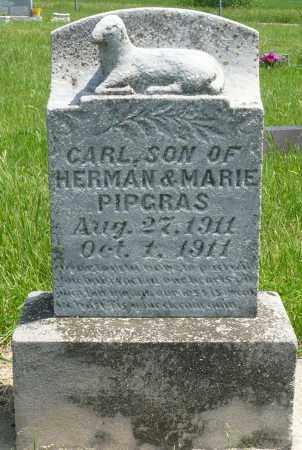 PIPGRAS, CARL - Minnehaha County, South Dakota   CARL PIPGRAS - South Dakota Gravestone Photos