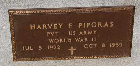 PIPGRAS, HARVEY F. (WW II) - Minnehaha County, South Dakota | HARVEY F. (WW II) PIPGRAS - South Dakota Gravestone Photos