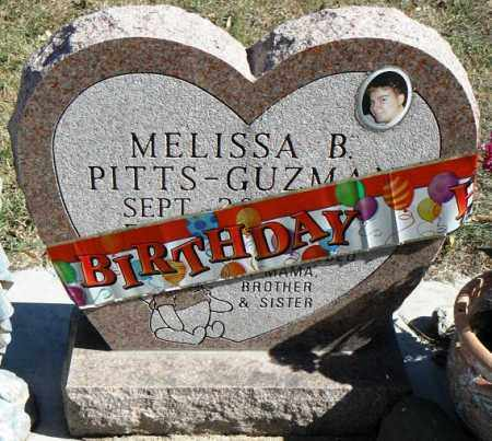 PITTS, MELISSA BLAKE - Minnehaha County, South Dakota | MELISSA BLAKE PITTS - South Dakota Gravestone Photos