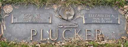 PLUCKER, CARL W. - Minnehaha County, South Dakota | CARL W. PLUCKER - South Dakota Gravestone Photos