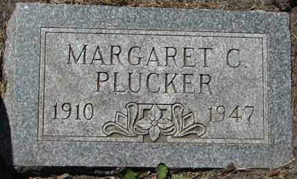PLUCKER, MARGARET C. - Minnehaha County, South Dakota | MARGARET C. PLUCKER - South Dakota Gravestone Photos