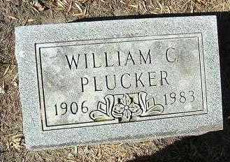 PLUCKER, WILLIAM C. - Minnehaha County, South Dakota   WILLIAM C. PLUCKER - South Dakota Gravestone Photos