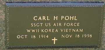 POHL, CARL H. - Minnehaha County, South Dakota | CARL H. POHL - South Dakota Gravestone Photos