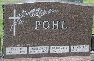 POHL, HANNELORE G. - Minnehaha County, South Dakota | HANNELORE G. POHL - South Dakota Gravestone Photos