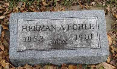 POHLE, HERMAN A. - Minnehaha County, South Dakota | HERMAN A. POHLE - South Dakota Gravestone Photos