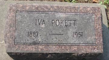 POKETT, IVA - Minnehaha County, South Dakota | IVA POKETT - South Dakota Gravestone Photos