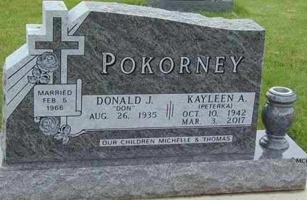 POKORNEY, KAYLEEN A. - Minnehaha County, South Dakota | KAYLEEN A. POKORNEY - South Dakota Gravestone Photos