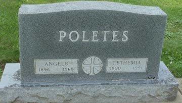 POLETES, ANGELO - Minnehaha County, South Dakota | ANGELO POLETES - South Dakota Gravestone Photos