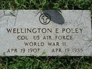 POLEY, WELLINGTON E. - Minnehaha County, South Dakota | WELLINGTON E. POLEY - South Dakota Gravestone Photos