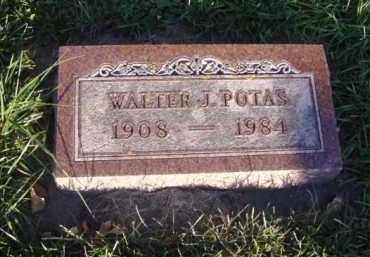 POTAS, WALTER - Minnehaha County, South Dakota | WALTER POTAS - South Dakota Gravestone Photos
