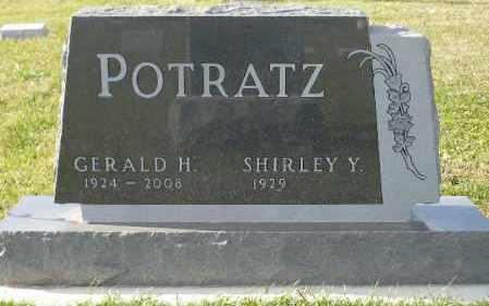 POTRATZ, SHIRLEY Y. - Minnehaha County, South Dakota | SHIRLEY Y. POTRATZ - South Dakota Gravestone Photos