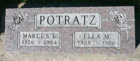 POTRATZ, MARCUS L. - Minnehaha County, South Dakota | MARCUS L. POTRATZ - South Dakota Gravestone Photos