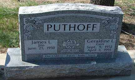 PUTHOFF, JAMES L. - Minnehaha County, South Dakota | JAMES L. PUTHOFF - South Dakota Gravestone Photos