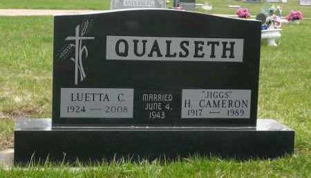 AMUNDSON QUALSETH, LUETTA CHARLOTTE - Minnehaha County, South Dakota   LUETTA CHARLOTTE AMUNDSON QUALSETH - South Dakota Gravestone Photos