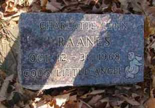 RAANES, CHARLTTE LYNN - Minnehaha County, South Dakota | CHARLTTE LYNN RAANES - South Dakota Gravestone Photos