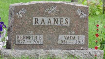 RAANES, KENNETH E. - Minnehaha County, South Dakota | KENNETH E. RAANES - South Dakota Gravestone Photos