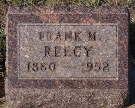 REECY, FRANK M - Minnehaha County, South Dakota   FRANK M REECY - South Dakota Gravestone Photos
