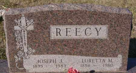 REECY, LORETTA M - Minnehaha County, South Dakota | LORETTA M REECY - South Dakota Gravestone Photos