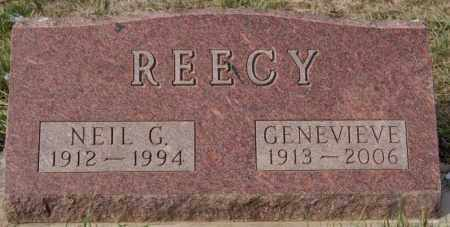 REECY, NEIL G - Minnehaha County, South Dakota | NEIL G REECY - South Dakota Gravestone Photos