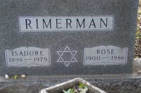 RIMERMAN, ROSE - Minnehaha County, South Dakota | ROSE RIMERMAN - South Dakota Gravestone Photos