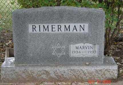 RIMERMAN, MARVIN - Minnehaha County, South Dakota | MARVIN RIMERMAN - South Dakota Gravestone Photos