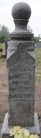 ROYCE, DANIEL D - Minnehaha County, South Dakota   DANIEL D ROYCE - South Dakota Gravestone Photos