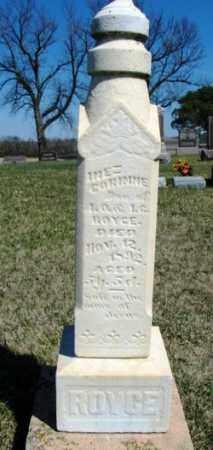 ROYCE, INEZ CORINNE - Minnehaha County, South Dakota | INEZ CORINNE ROYCE - South Dakota Gravestone Photos