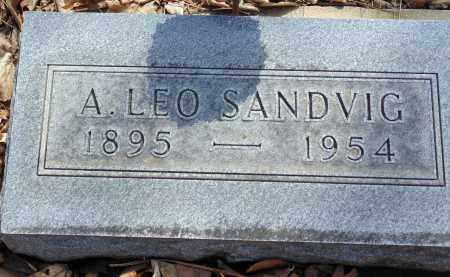 SANDVIG, A. LEO - Minnehaha County, South Dakota | A. LEO SANDVIG - South Dakota Gravestone Photos