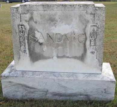 SANDVIG, FAMILY STONE - Minnehaha County, South Dakota | FAMILY STONE SANDVIG - South Dakota Gravestone Photos