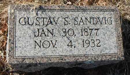 SANDVIG, GUSTAV S. - Minnehaha County, South Dakota | GUSTAV S. SANDVIG - South Dakota Gravestone Photos