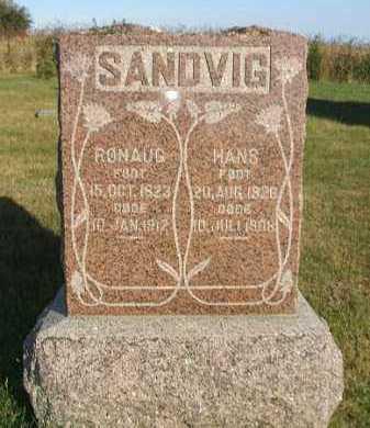 SANDVIG, RONAUG - Minnehaha County, South Dakota | RONAUG SANDVIG - South Dakota Gravestone Photos