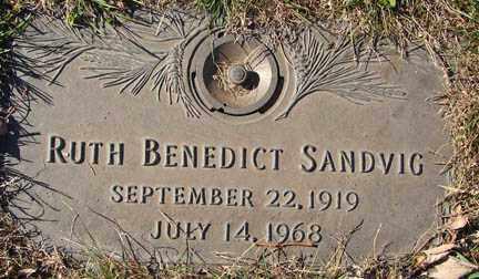 SANDVIG, RUTH - Minnehaha County, South Dakota   RUTH SANDVIG - South Dakota Gravestone Photos