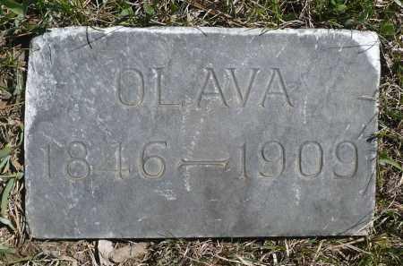 SATER, OLAVA - Minnehaha County, South Dakota   OLAVA SATER - South Dakota Gravestone Photos