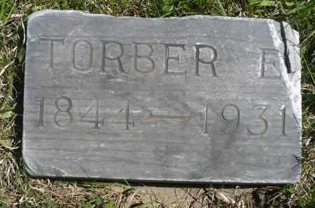 SATER, TORBER E. - Minnehaha County, South Dakota   TORBER E. SATER - South Dakota Gravestone Photos