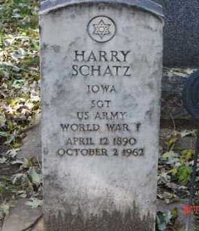 SCHATZ, HARRY - Minnehaha County, South Dakota | HARRY SCHATZ - South Dakota Gravestone Photos