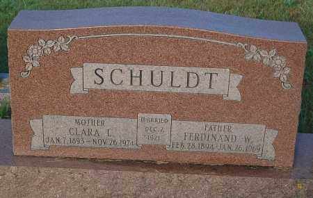 SCHULDT, FERDINAND W. - Minnehaha County, South Dakota | FERDINAND W. SCHULDT - South Dakota Gravestone Photos