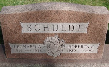 SCHULDT, LEONARD ARTHUR - Minnehaha County, South Dakota | LEONARD ARTHUR SCHULDT - South Dakota Gravestone Photos