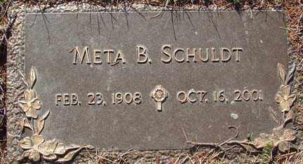 SCHULDT, META B. - Minnehaha County, South Dakota | META B. SCHULDT - South Dakota Gravestone Photos