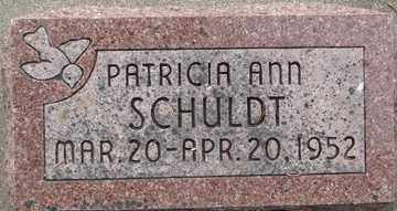 SCHULDT, PATRICIA ANN - Minnehaha County, South Dakota | PATRICIA ANN SCHULDT - South Dakota Gravestone Photos