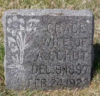 SCHUT, GRACE - Minnehaha County, South Dakota | GRACE SCHUT - South Dakota Gravestone Photos