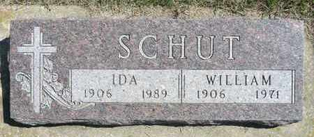 SCHUT, WILLIAM - Minnehaha County, South Dakota | WILLIAM SCHUT - South Dakota Gravestone Photos