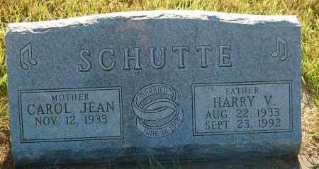 SCHUTTE, HARRY V. - Minnehaha County, South Dakota | HARRY V. SCHUTTE - South Dakota Gravestone Photos