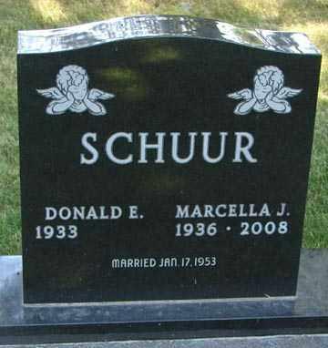 SCHUUR, MARCELLA J. - Minnehaha County, South Dakota | MARCELLA J. SCHUUR - South Dakota Gravestone Photos