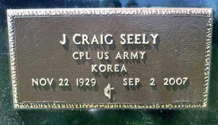 SEELY, J. CRAIG (KOREA) - Minnehaha County, South Dakota | J. CRAIG (KOREA) SEELY - South Dakota Gravestone Photos