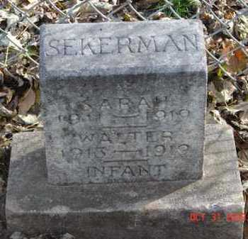 SEKERMAN, SARAH - Minnehaha County, South Dakota | SARAH SEKERMAN - South Dakota Gravestone Photos