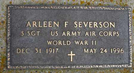 SEVERSON, ARLEEN F. (WWII) - Minnehaha County, South Dakota | ARLEEN F. (WWII) SEVERSON - South Dakota Gravestone Photos