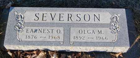 SEVERSON, OLGA M. - Minnehaha County, South Dakota | OLGA M. SEVERSON - South Dakota Gravestone Photos