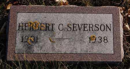 SEVERSON, HERBERT C. - Minnehaha County, South Dakota | HERBERT C. SEVERSON - South Dakota Gravestone Photos