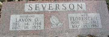 SEVERSON, FLORENCE C. - Minnehaha County, South Dakota | FLORENCE C. SEVERSON - South Dakota Gravestone Photos